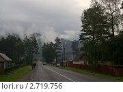 Купить «Горный Алтай. Село Узнезя», фото № 2719756, снято 2 июля 2011 г. (c) Виктор Ковалев / Фотобанк Лори
