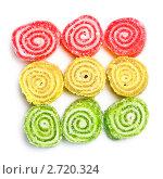 Купить «Разноцветный мармелад», фото № 2720324, снято 20 ноября 2018 г. (c) Петр Малышев / Фотобанк Лори