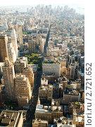 Купить «Небоскребы Нью-Йорка», фото № 2721652, снято 6 сентября 2010 г. (c) Elnur / Фотобанк Лори