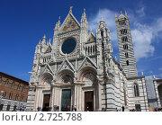 Сиенский собор, Италия (2011 год). Стоковое фото, фотограф Елена Мурашева / Фотобанк Лори