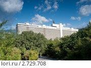 Ялта. Отель Интурист, Крым, Украина (2011 год). Редакционное фото, фотограф Владимир Цветов / Фотобанк Лори