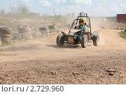 Гонки на багги (2011 год). Редакционное фото, фотограф Князева Наталья / Фотобанк Лори