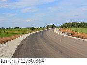 Очень ровная автомагистраль. Стоковое фото, фотограф Анатолий Матвейчук / Фотобанк Лори