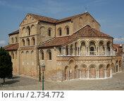 Собор Санта-Мария э Донато (Basilica di Santa Maria e Donato) (2009 год). Стоковое фото, фотограф Александра Калмыкова / Фотобанк Лори