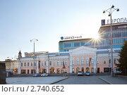 """Торговый и деловой центр """"Европа"""" в Екатеринбурге (2011 год). Редакционное фото, фотограф Архипова Мария / Фотобанк Лори"""