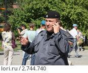 Купить «Полицейский на дне ВДВ», эксклюзивное фото № 2744740, снято 2 августа 2011 г. (c) Free Wind / Фотобанк Лори