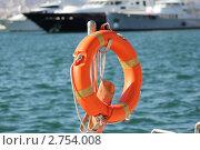 Купить «Спасательный круг», фото № 2754008, снято 28 августа 2011 г. (c) EXG / Фотобанк Лори