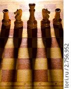 Купить «Деревянные шахматные фигуры», фото № 2756952, снято 21 февраля 2019 г. (c) Сергей Петерман / Фотобанк Лори