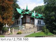 Купить «Дача Шаляпина в Кисловодске», фото № 2758160, снято 29 августа 2011 г. (c) Александр Эминов / Фотобанк Лори