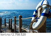 Спасательный круг. Стоковое фото, фотограф Алексей Хабазов / Фотобанк Лори
