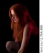 Купить «Рыжая девушка», фото № 2764488, снято 16 апреля 2009 г. (c) Антон Глущенко / Фотобанк Лори