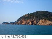 Купить «Побережье Коста Брава, Испания», фото № 2766432, снято 10 апреля 2011 г. (c) Яков Филимонов / Фотобанк Лори