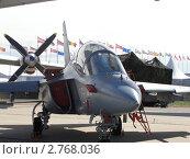 Купить «Учебно-боевой самолёт Як-130», фото № 2768036, снято 19 августа 2011 г. (c) Сизов Евгений / Фотобанк Лори