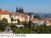 Купить «Прага. Вид из Страговский монастырь», фото № 2769696, снято 7 мая 2011 г. (c) Андрей Рыбачук / Фотобанк Лори