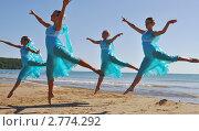 Балет на берегу моря (2011 год). Редакционное фото, фотограф Турчук Анна / Фотобанк Лори