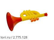 Детская игрушка труба. Стоковое фото, фотограф Александр Харченко / Фотобанк Лори