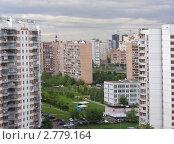 Купить «Москва. Вид на район Новокосино», эксклюзивное фото № 2779164, снято 5 сентября 2011 г. (c) lana1501 / Фотобанк Лори