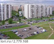 Купить «Москва. Вид на район Новокосино», эксклюзивное фото № 2779168, снято 5 сентября 2011 г. (c) lana1501 / Фотобанк Лори
