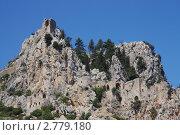 Замок святого Илариона в Киренейских горах. Северный Кипр. Стоковое фото, фотограф Анатолий Баранов / Фотобанк Лори