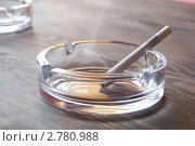 Купить «Сигарета в пепельнице», фото № 2780988, снято 24 февраля 2011 г. (c) Вячеслав Палес / Фотобанк Лори