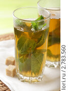 Купить «Мятный чай», фото № 2783560, снято 9 июня 2011 г. (c) Stockphoto / Фотобанк Лори