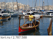 Мальта. Прогулочная лодка (2011 год). Редакционное фото, фотограф Александр Карябин / Фотобанк Лори