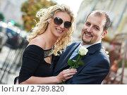 Купить «Мужчина с женщиной на празднике», фото № 2789820, снято 20 марта 2019 г. (c) Дмитрий Калиновский / Фотобанк Лори