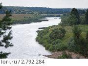 Купить «Река Угра», эксклюзивное фото № 2792284, снято 29 июля 2011 г. (c) Сергей Лаврентьев / Фотобанк Лори