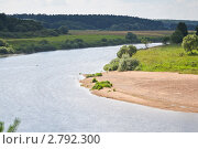 Купить «Река Угра», эксклюзивное фото № 2792300, снято 29 июля 2011 г. (c) Сергей Лаврентьев / Фотобанк Лори