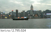 Гонконг, бухта Виктории (2011 год). Редакционное видео, видеограф Кирилл Трифонов / Фотобанк Лори