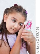 Купить «Маленькая модница», фото № 2795168, снято 27 августа 2011 г. (c) Ольга Аристова / Фотобанк Лори