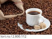 Купить «Черный кофе», фото № 2800112, снято 25 июня 2011 г. (c) Александр Лычагин / Фотобанк Лори