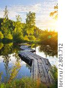 Купить «Летний пейзаж», фото № 2801712, снято 8 августа 2011 г. (c) Икан Леонид / Фотобанк Лори