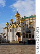 Благовещенский собор в Москве (2011 год). Стоковое фото, фотограф Александр Герасименко / Фотобанк Лори