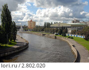 Купить «Калининград. Вид с эстакадного моста», эксклюзивное фото № 2802020, снято 16 сентября 2011 г. (c) Svet / Фотобанк Лори