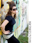 Девушка - панк. Стоковое фото, фотограф Зореслава / Фотобанк Лори