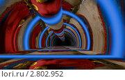 Купить «Тоннель Будды», видеоролик № 2802952, снято 17 сентября 2011 г. (c) Valeriu Panfilov / Фотобанк Лори