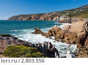 Португалия. Морской берег. Стоковое фото, фотограф Vasilii Olii / Фотобанк Лори