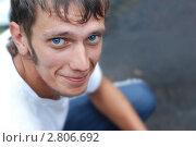 Портрет молодого парня. Стоковое фото, фотограф Столыпин Борис / Фотобанк Лори