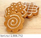 Купить «Имбирное печенье», фото № 2806712, снято 13 сентября 2011 г. (c) Наталья Бидюкова / Фотобанк Лори