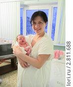 Купить «В роддоме», фото № 2811688, снято 31 декабря 2010 г. (c) Кристина Викулова / Фотобанк Лори