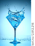 Купить «Всплеск в бокале», фото № 2812216, снято 11 декабря 2008 г. (c) Иван Михайлов / Фотобанк Лори