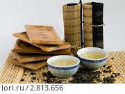Пиалы с чаем. Стоковое фото, фотограф Кирьянова Наталия / Фотобанк Лори