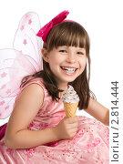 Купить «Счастливая девочка смеется», фото № 2814444, снято 16 октября 2018 г. (c) Светлана  Гордачева / Фотобанк Лори