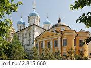 Купить «Новоспасский ставропигиальный мужской монастырь. Москва», эксклюзивное фото № 2815660, снято 28 мая 2011 г. (c) stargal / Фотобанк Лори