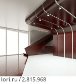Купить «Интерьер пустой комнаты», иллюстрация № 2815968 (c) Юрий Бельмесов / Фотобанк Лори