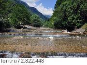 Горная река Жоэквара. Стоковое фото, фотограф Станислав Сменов / Фотобанк Лори