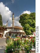 Большая ханская мечеть в Бахчисарае (2011 год). Редакционное фото, фотограф Давыдов Юрий / Фотобанк Лори