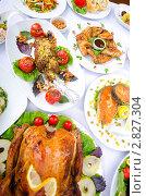 Купить «Жареный цыпленок», фото № 2827304, снято 20 августа 2011 г. (c) Elnur / Фотобанк Лори