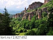 Скальные образования, формируется феноменальная природа, Болгария. Стоковое фото, фотограф Владимир Доковски / Фотобанк Лори